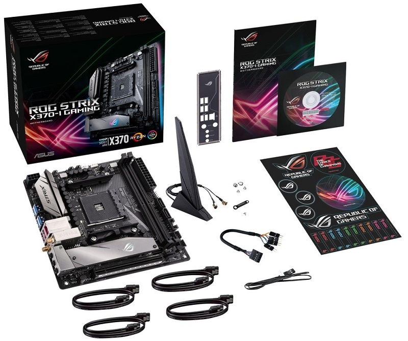 ASUS' ROG Strix X370-I ITX AM4 motherboard has been pictured