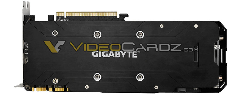 Gigabyte's GTX 1070 Ti Gaming has been pictured