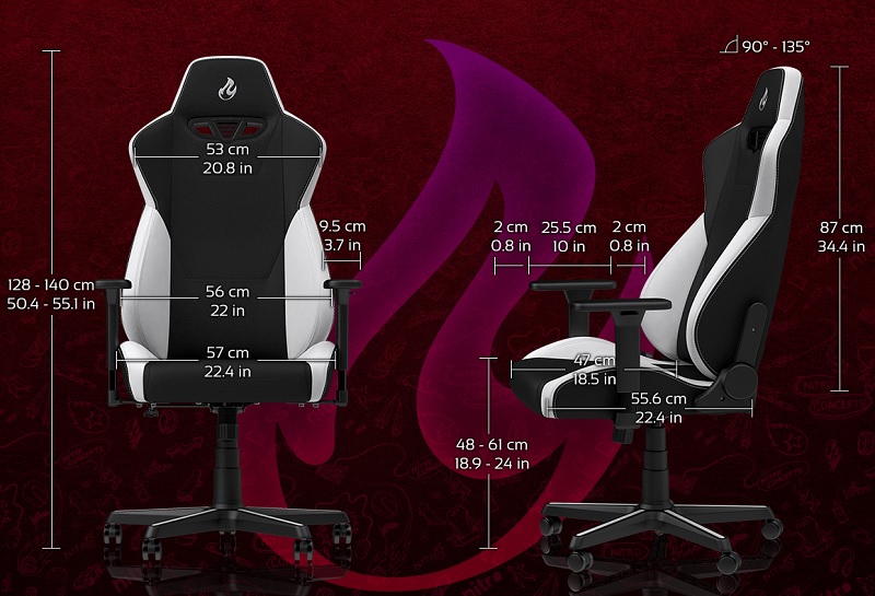 Nitro Concepts releases their new S300 Gaming Chair