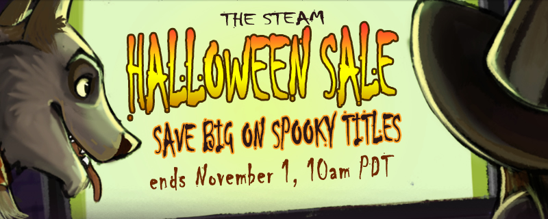 The Steam Halloween Sale is now on