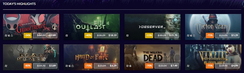 GOG has started their Halloween Sale