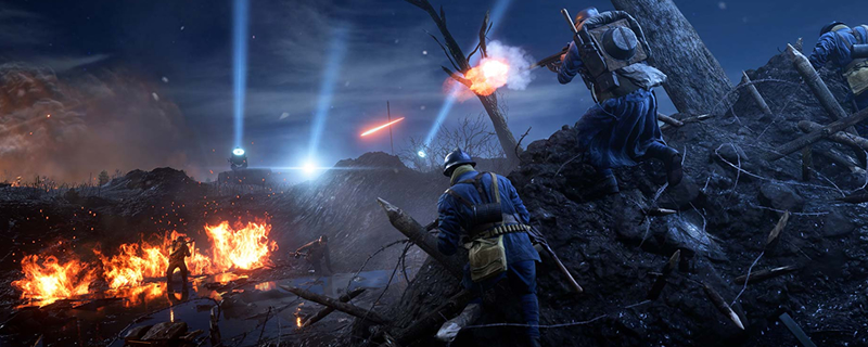 Battlefield 1's Nivelle Nights Map will soon be free for all players