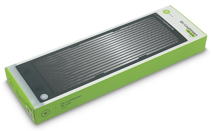 EK has released new 420 and 560mm CoolStream series Slim radiators