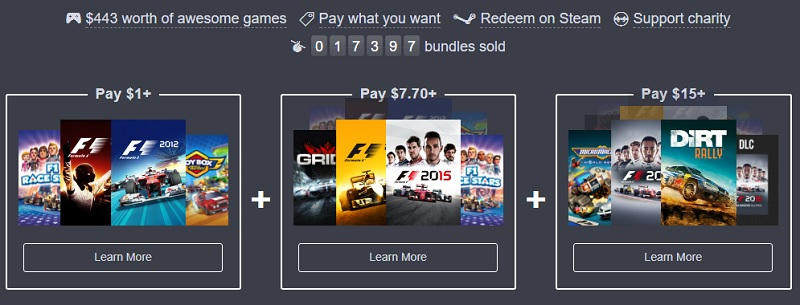 The Humble Codemasters Racing Bundle is now live