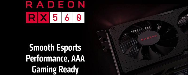 AMD changes the specifications of their RX 560