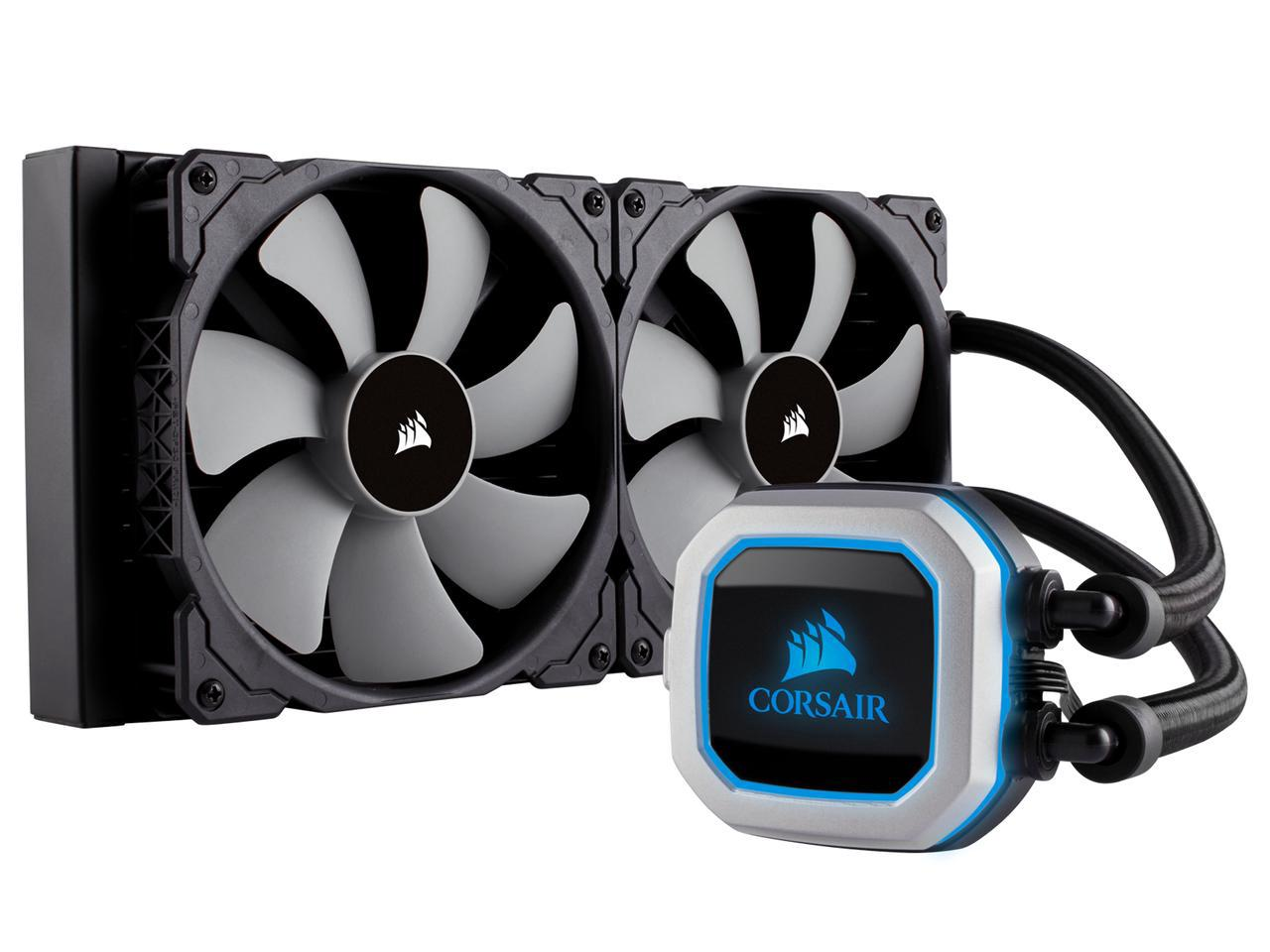 Corsair's H115i PRO and H150i PRO coolers have been leaked
