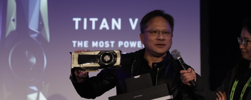Nvidia announces their $3000 Titan V Volta GPU