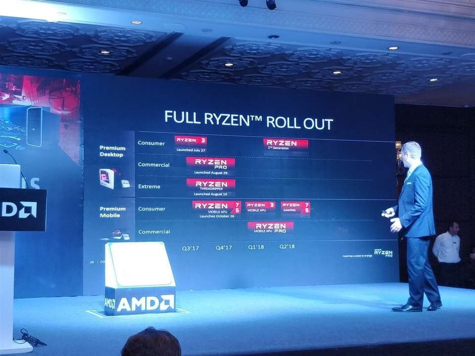AMD's Ryzen 2nd Generation is rumoured to be in Q1-Q2 2018