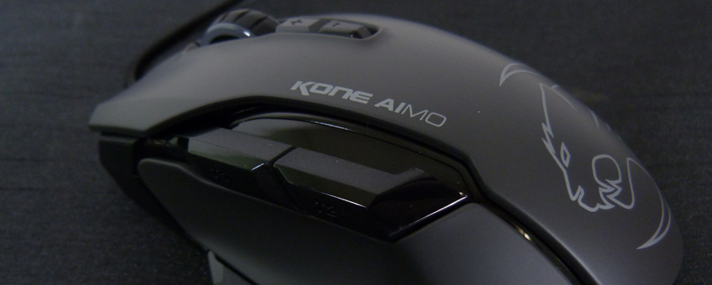 Roccat Kone AIMO Mouse and Kanga Mousepad Review