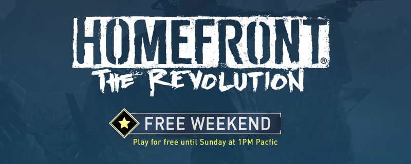 The Homefront Free Weekend has started