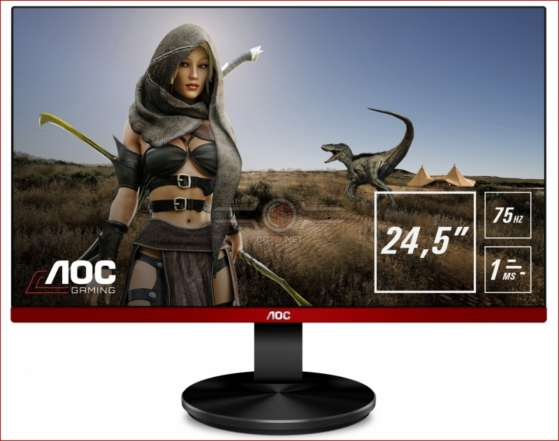 AOC announce their G2590VXQ FreeSync budget-oriented display