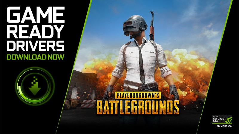 Nvidia releases a Game Ready Driver for PUBG's official debut