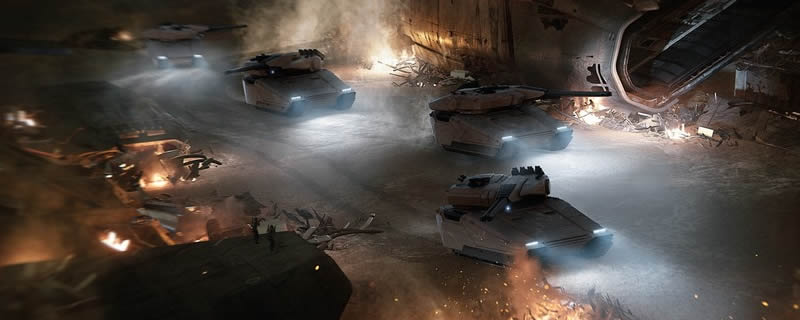 CIG starts selling VIP exclusive tanks in Star Citizen - Mark Hamill appears in Squadron 42 trailer