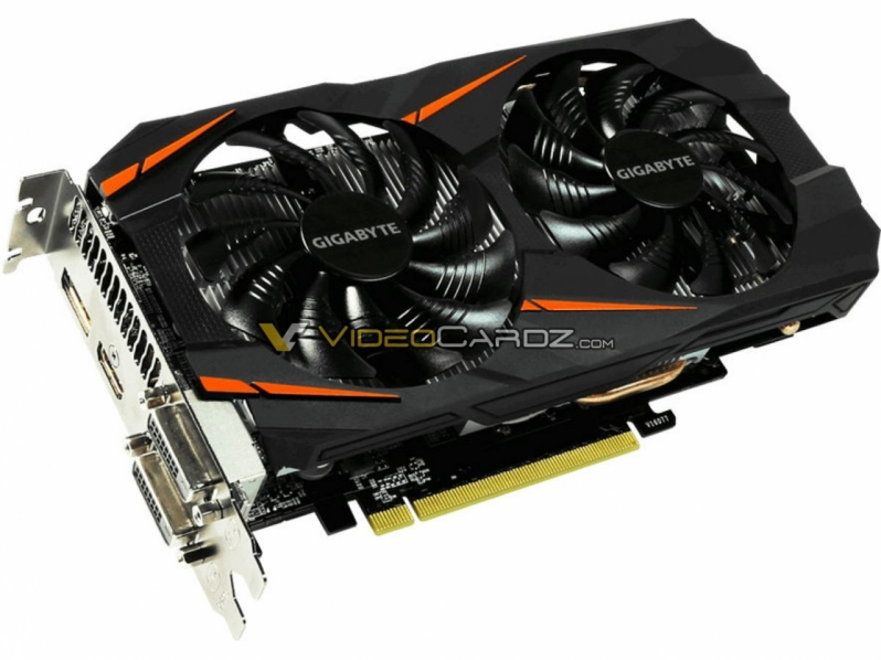 Gigabyte's GTX 1060 WINDFORCE 5GB OC