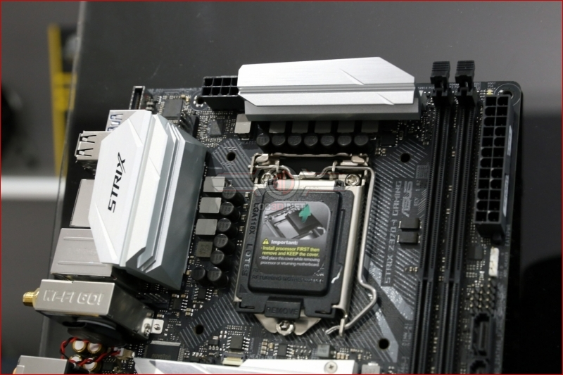 ASUS Z370i Strix Gaming Review