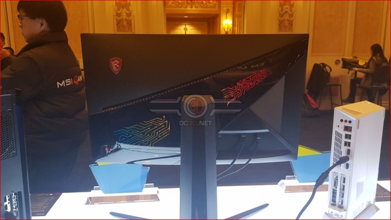 A quick look at MSI's OPTIX MPG27CQ display at CES