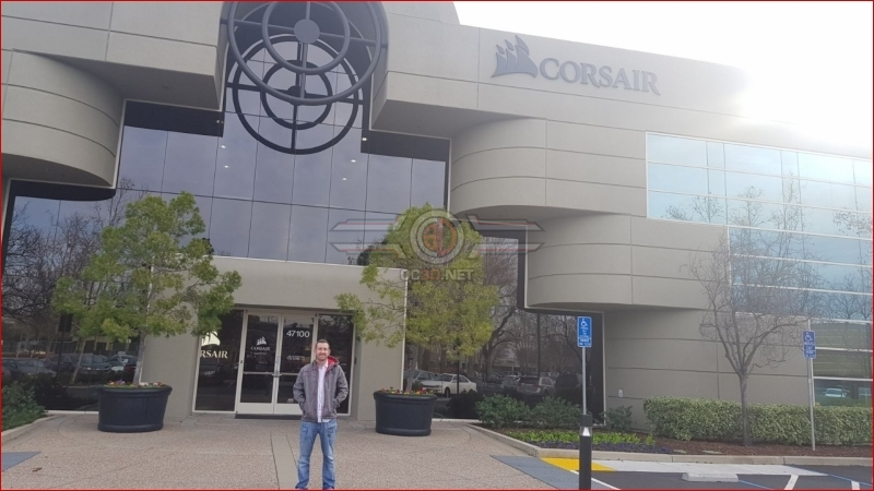 OC3D Tours - Inside Corsair