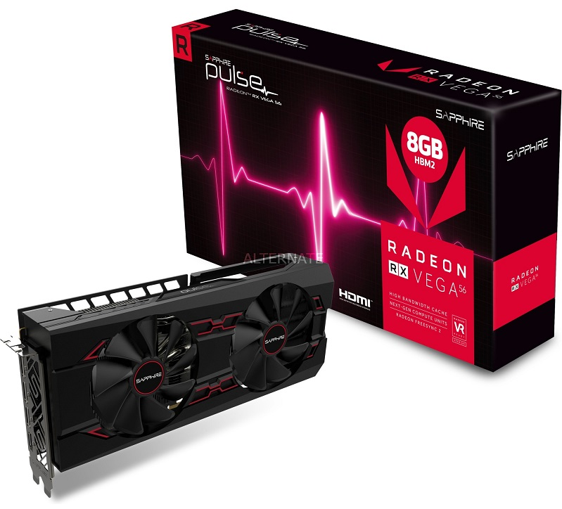Sapphire RX Vega 56 Pulse Spotted