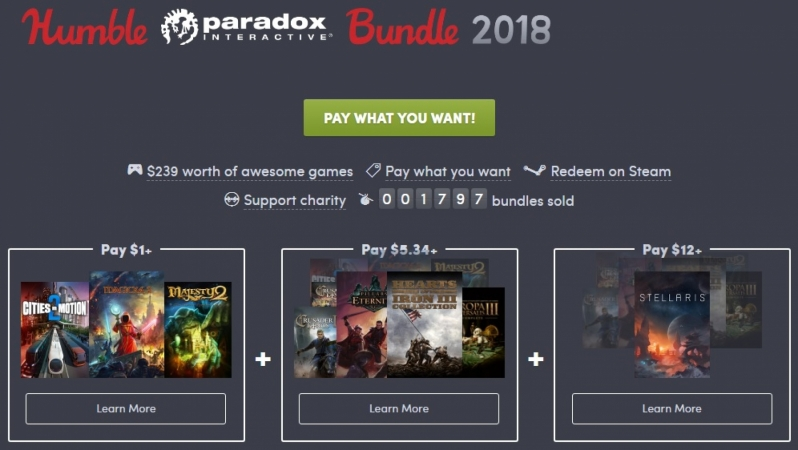 The Humble Paradox 2018 Bundle is now live