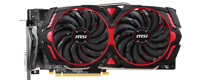 MSI releases four new RX 570/580 Armor MK2 series GPUs