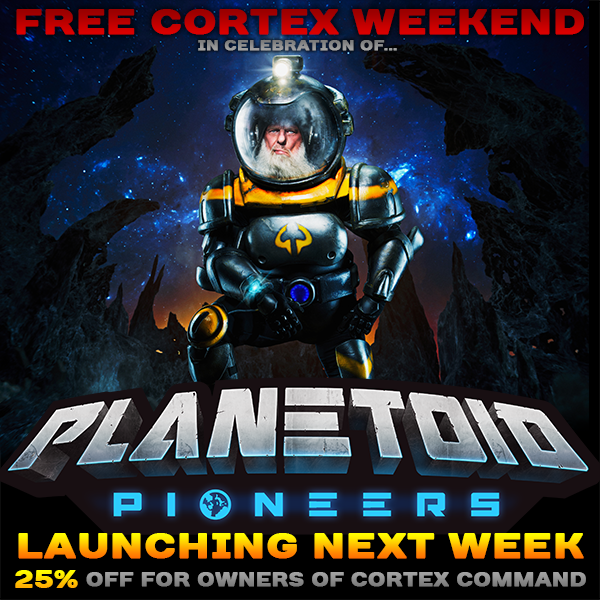 Cortex Command is currently available for free on Steam