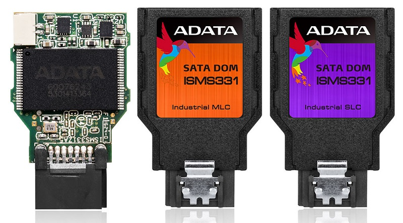ADATA releases compact ISMS331 series of DOM SSDs