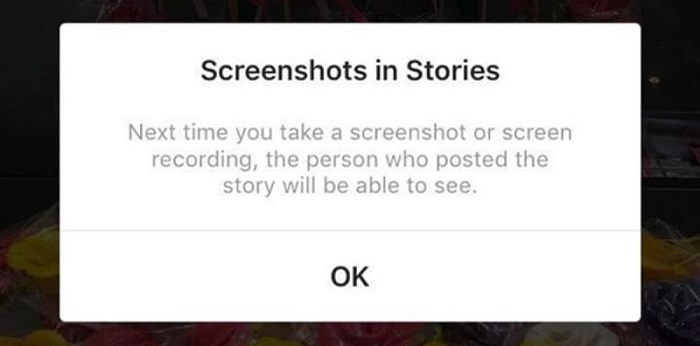 Instagram is testing story alerts if readers take a screenshot