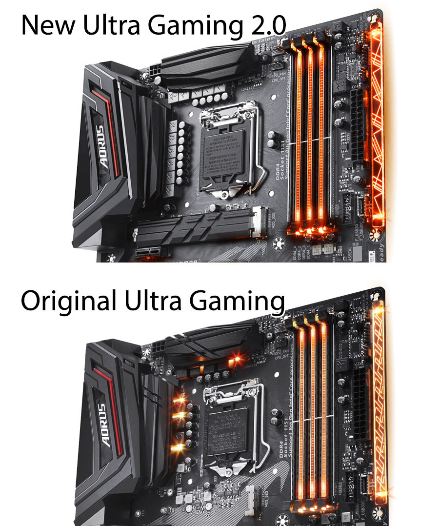 Gigabyte releases Aorus Z370 Ultra Gaming 2.0 motherboard with beefier VRMs