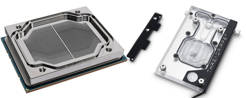 EK releases their Gigabyte X399 monoblock with improved Threadripper coldplate designs