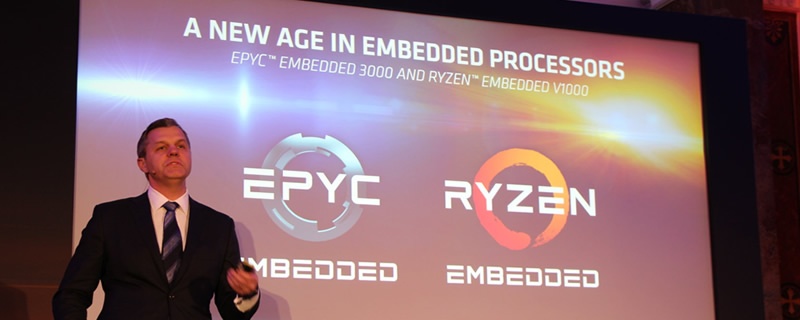 AMD launches their Ryzen Embedded V1000 and EPYC 3000 Embedded series processors