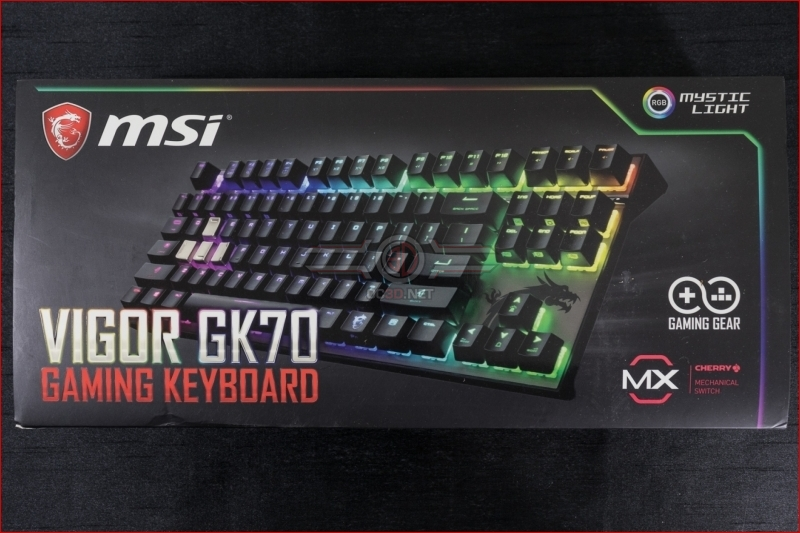 MSI Vigor GK70 TKL RGB Mechanical Keyboard Review