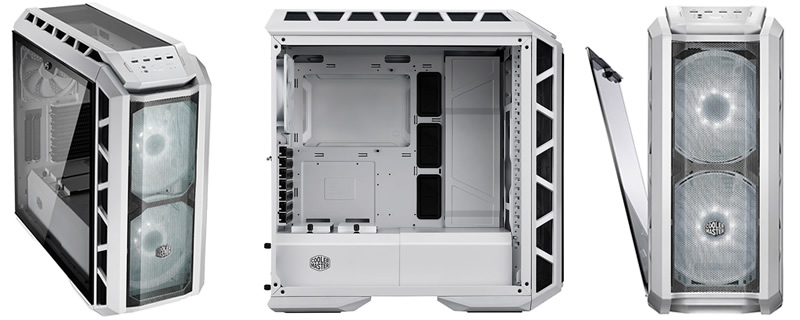 Cooler Master announces their MasterCase H500P Mesh White Chassis