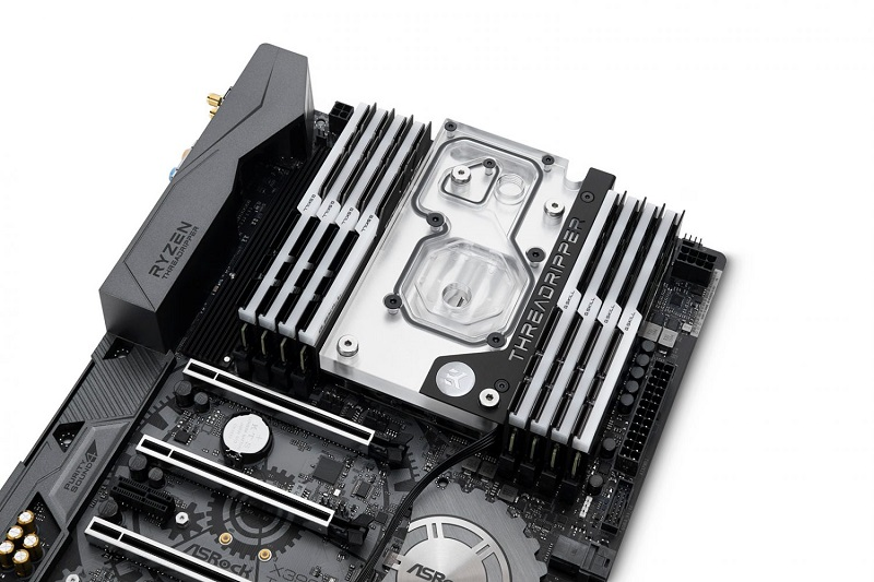 EK releases a new Ryzen Threadripper monoblock for ASUS X399 motherboards