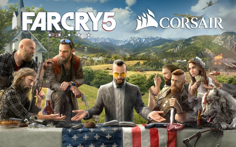 Far Cry 5 will ship with Corsair lighting integration