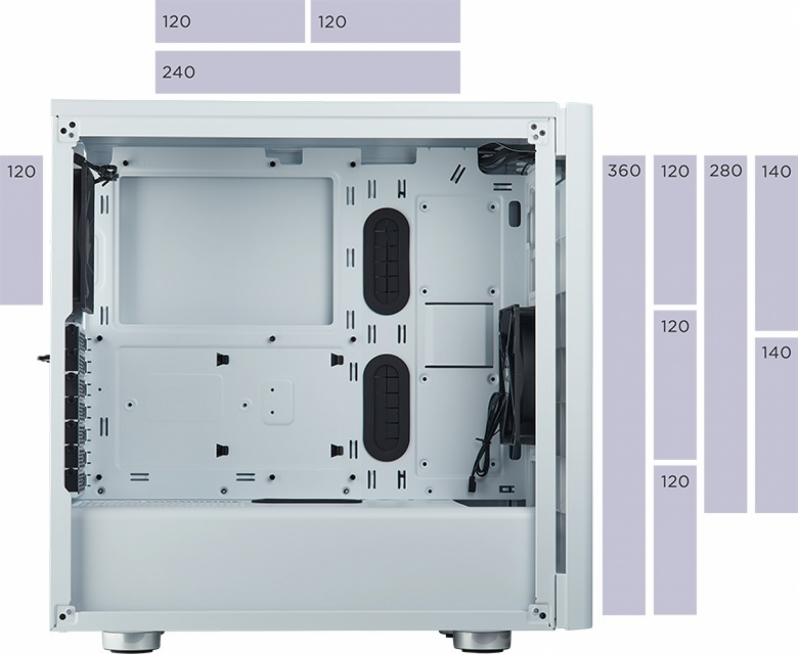Corsair releases their 275R Tempered Glass Mid-Tower Chassis