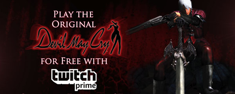 Devil May Cry HD is currently available for free on Twitch Prime