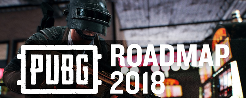 PUBG reveals their 2018 roadmap