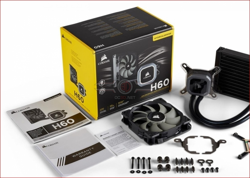 Corsair releases their H60 2018 Edition CPU cooler