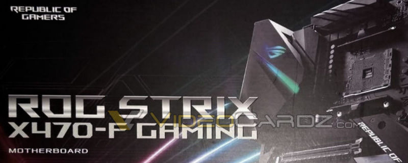 ASUS' ROG Strix X470-F Gaming motherboard packaging has leaked