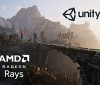 AMD's Radeon Rays have been integrated into the Unity Engine