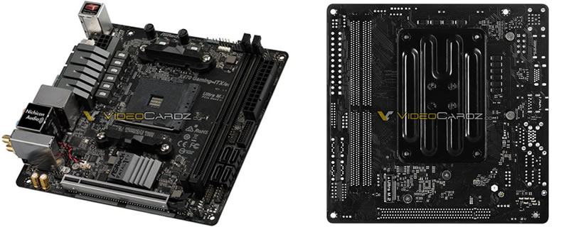 ASRock's X470 Fatal1ty Gaming ITX/ac has been leaked