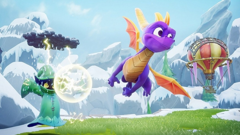 Spyro Reignited Trilogy retail listings and screenshots leak