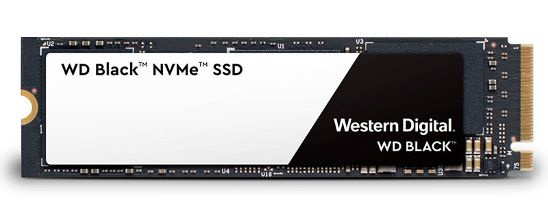 Western Digital releases their high-end Black 3D Series of NVMe SSDs