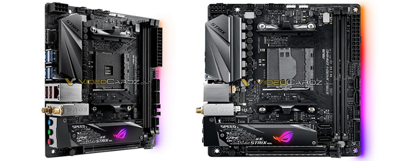 ASUS' ROG Strix X470-I Mini ITX motherboard has been pictured