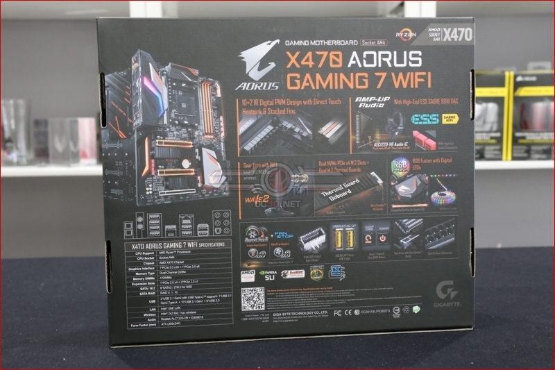 Gigabyte X470 Aorus Gaming 7 WiFi Preview