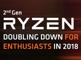 AMD 2nd Gen Ryzen (Zen+) 2600X 2700X Preview