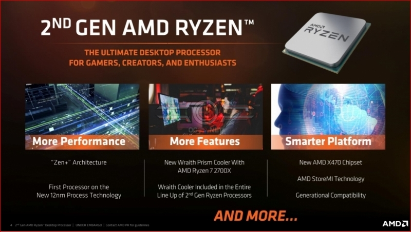 AMD 2nd Gen Ryzen (Zen+) Preview