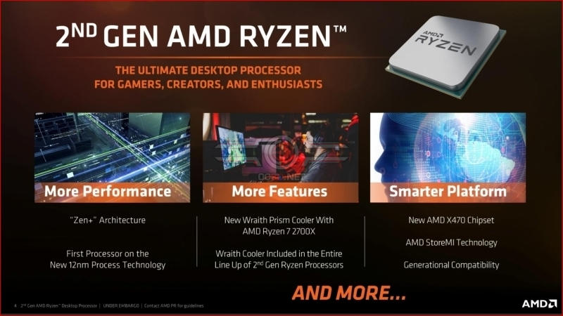 AMD Ryzen 2nd Generation Ryzen 5 2600X and Ryzen 7 2700X Review
