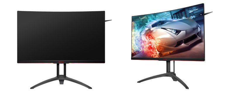 AOC announces their 31.5-inch AGON AG322QC4 FreeSync 2 DisplayHDR 400 monitor
