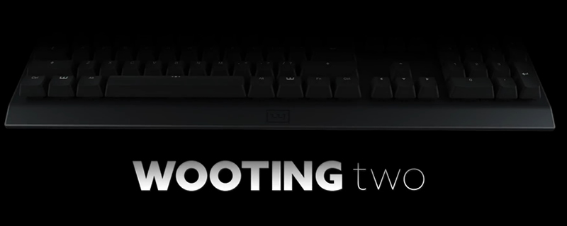 The Wooting Two enhanced Analog Keyboard has been announced